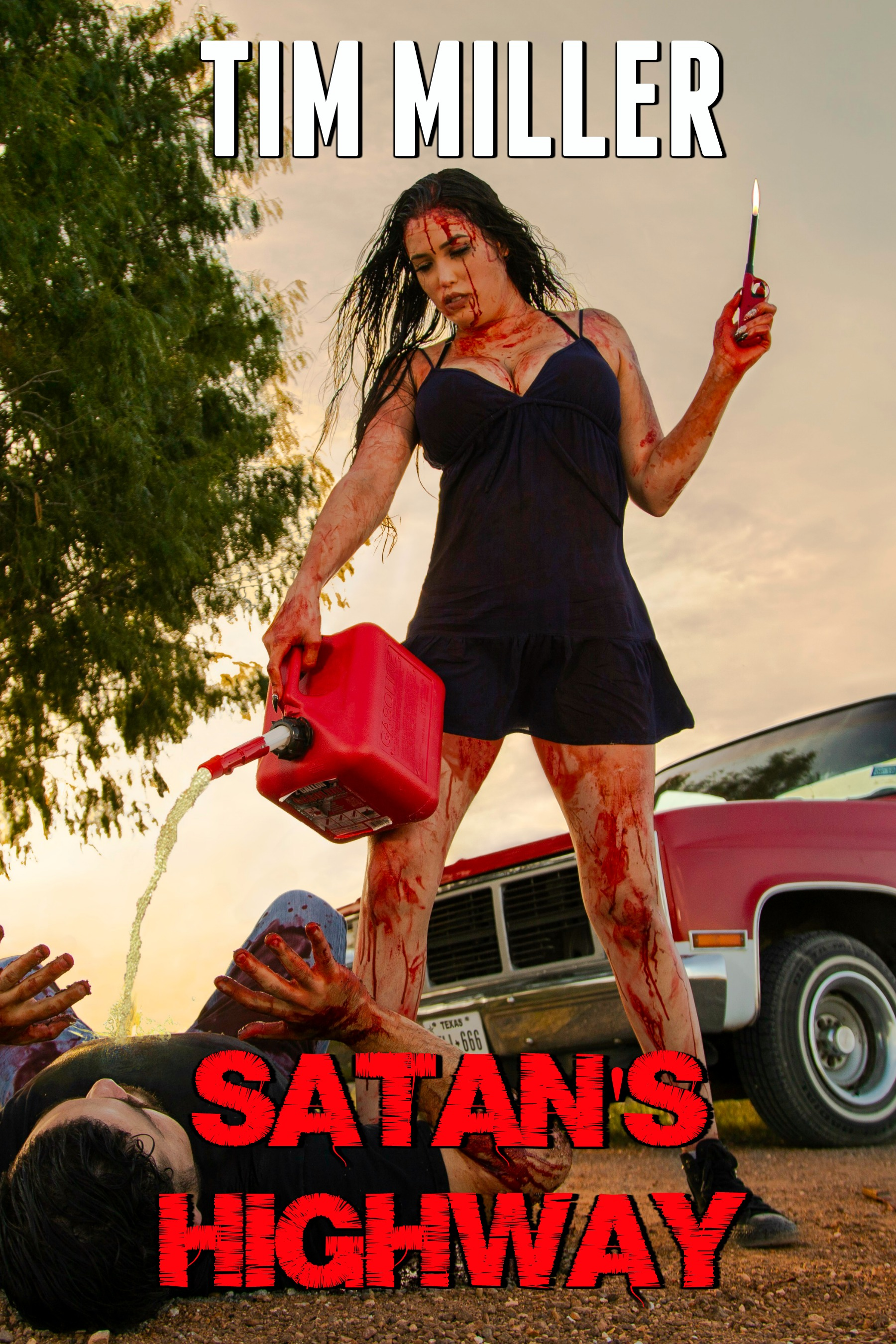 The book cover for Satan's Highway.