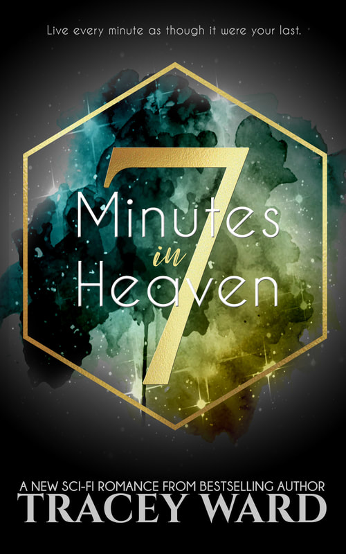 '7 Minutes in Heaven' book cover by Tracey Ward.