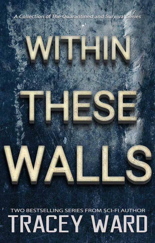 'Within These Walls' book cover by Tracey Ward.
