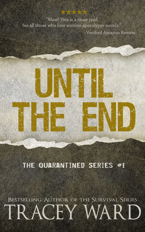 'Until the End' book cover by Tracey Ward.