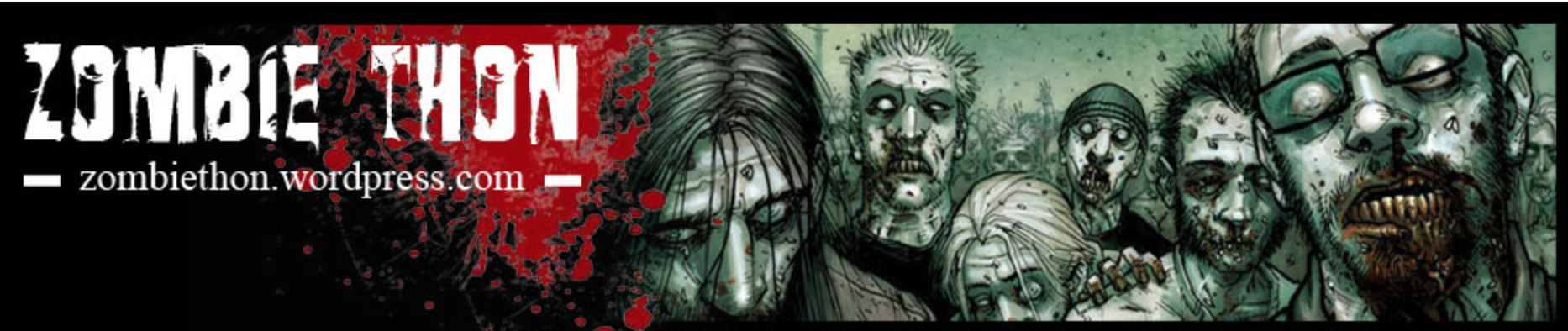 Zombie-Thon website banner. Photo: Zombiethon.wordpress.com (Luke W. Boyd)